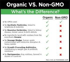 Organic Vs Conventional Foods Chart 10 Reasons Why You Should Choose The Organic Food Label Over