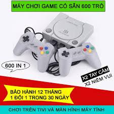 Máy Chơi Game 4 Nút 600 Trò Game Station phiên bản gtay cầm cao cấp nhất  thế hệ 2020, Giá tháng 2/2021