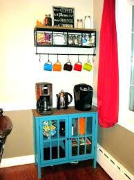 office coffee cabinets. Coffee Station Organizer . Office Cabinets