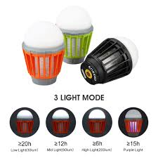 Bug Free Camping Lights Details About Portable Waterproof Mosquito Zapper Bug Killer Led Camping Lantern Rechargeable
