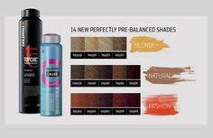Goldwell Reshade Color Chart 95 Best Goldwell Haircolor Images In 2019 Hair Color Hair