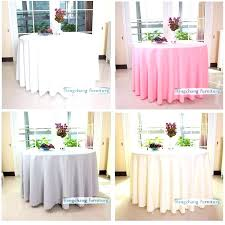 table cover decoration custom design decorative round table cover ideas wedding table linen decorations
