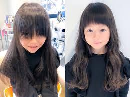 前髪をばっさり やっぱり子供は眉上が可愛い 野心家美容師