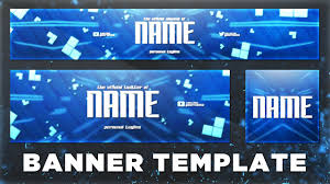 Youtube Template Psd Sick Youtube Banner Template Psd Photoshop Cc Cs6 Free Download 2016