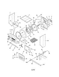 Diagram kenmore dryer parts diagram