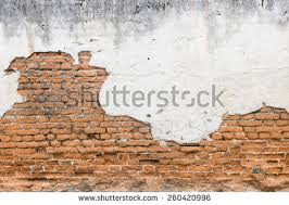 white exposed brick concrete wall.
