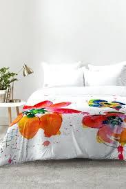 watercolor bedding set summer in watercolor comforter set watercolor garden bedding set