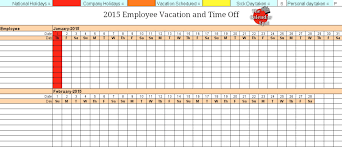 Vacation Schedule Template Vacation Schedule Template RESUME 1