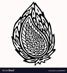 Graphic Design Paisley Paisley Nature Folk Art Graphic Design Element