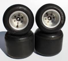 Racing Kart Quarter Midget Rims W Dunlop 11x7 10 5 11x5 5