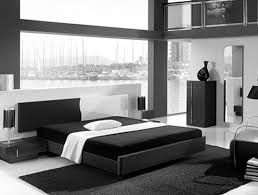 Modern Black And White Bedroom Home Decorating Ideas Home Decorating Ideas Thearmchairs