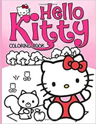 Get the best printable hello kitty coloring pages to create some fun in your kid's activities. Hello Kitty Coloring Book Wonderful Coloring Books For Adults Anxiety Johnston Rhys 9798636538189 Amazon Com Books