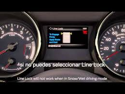 how line lock works mustang 2015 line lock youtube