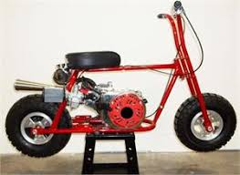 mini bike kit build a red devil minibike