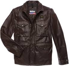 blauer usa michigan leather jacket men jackets fashion brown blauer jacket for blauer