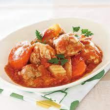 鶏肉 トマト 煮込み