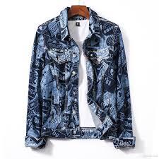 Designer Jean Jacket Mens Designer Denim Jacket Street Wear Fashion Style New Slim Fashion Brand Jacket Mens Casual Jacket Coat Asian Size M 2xl Jean Jacket With Fur