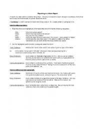 Report Writing Format and Samples   CBSE Class    and Class