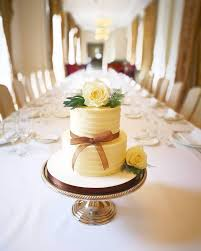 Odiham Cake Company Simple 2 Tier Buttercream Wedding Cake