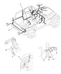 Wiring body accessories for 1999 jeep wrangler
