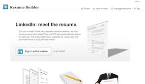 Resume Builder Linkedin New My Hackday Project Is Live The Resume Builder