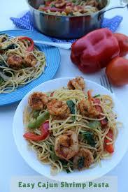 easy cajun shrimp pasta recipe
