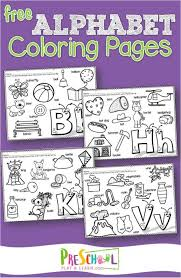 All 26 of these activity pages are the same. Free Alphabet Coloring Pages