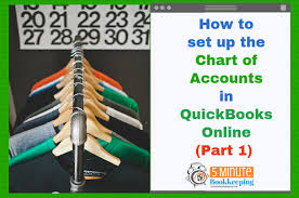 Setting Up Chart Of Accounts In Quickbooks 2014 Quickbooks Online Chart Of Accounts Tutorial