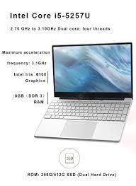 €343 with coupon for <b>KUU K1 Laptop</b> Intel Core i5-5257U Processor ...