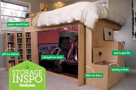 Storage Inspiration: Customised Loft Bed