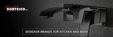 Luxury Kitchen Faucet Brands Nortesco Designer Brands For Kitchen Bath