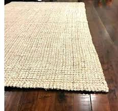 pottery barn wool and jute rug chunky natural blue image 0 wool and jute rug