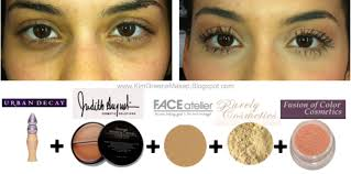 how to hide dark circles under your