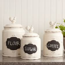 French Canisters Kitchen Attractive Kitchen Of Charming Interior Design For Home Remodeling