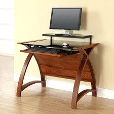30 inch wide computer desk curve wide computer desk in walnut and black wide computer desk