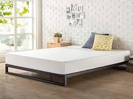 Zinus Trisha 7 Inch Heavy Duty Low Profile Platforma Bed Frame / Mattress Foundation / Box Spring Optional / Wood Slat Support, King