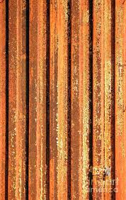 rusted corrugated