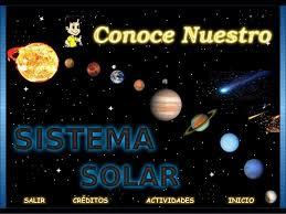 Conoce Nuestro Sistema Solar