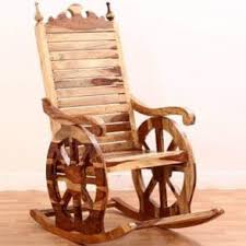 wooden rocking chairs. Exellent Rocking Silvio Rocking Chair Natural Finish Intended Wooden Chairs