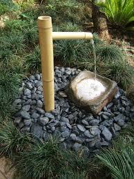 zen bamboo water feature to indoor zen garden fountain