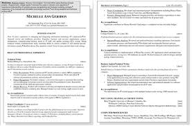 Sample Resume For A Business Position Dummies
