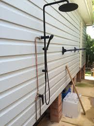 Outdoor Shower Impact Plumbing Outdoor Shower
