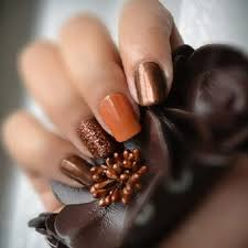 Fall Nail Designs 30 Cute Autumn Nail Designs Youll Want To Try Nails Pinterest