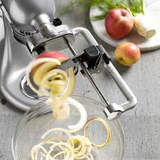 kitchenaid spiralizer attachment. kitchenaid spiralizer attachment