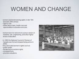 women changing roles and rights women and change women started 2 women