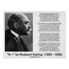 by rudyard kipling essay if by rudyard kipling essay