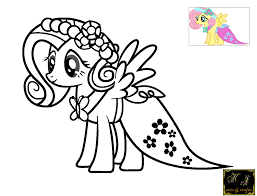 Small Picture KJ Coloring Pages Fluttershy For Pages itgodme