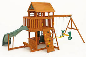 Products  Big Backyard Play SetBig Backyard Ashberry Wood Swing Set