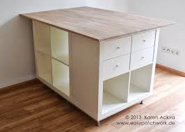 Outstanding New Customized Sewing Room Cutting Table Ikea Hackers