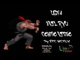 usf4 evil ryu bo video basic fadc